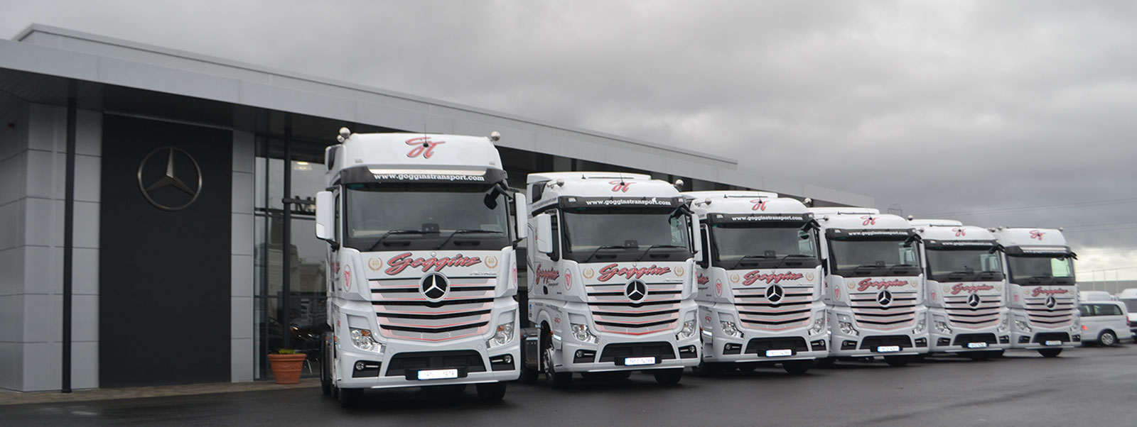 Providing Transport + Logistic Services for over 40 Years between Ireland, the UK + mainland Europe